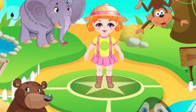 Cuidadora del Zoo