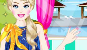 Uñas decoradas para Barbie