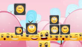 Juego de caras sonrientes