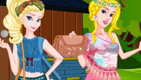 Princesas Disney moda bohemia