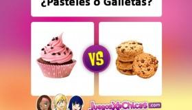 ¿Pasteles o galletas?