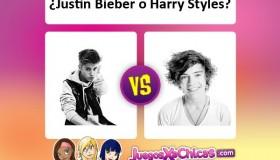¿Quién es mejor? ¿Justin Bieber o Harry Styles?