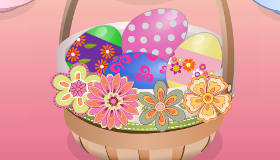 Diseña cestas de Pascua