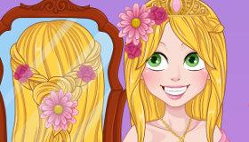 Rapunzel Trenzas de Boda
