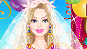 Vestidos de primera comunión de Barbie