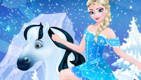 Elsa de Frozen para chicas