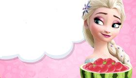 Hacer tortas de Frozen