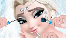 Elsa de Frozen maquillajes