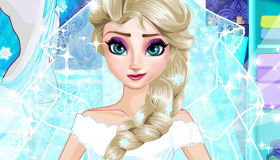 El vestido de novia de Elsa
