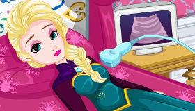 Elsa Frozen está malita