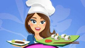 Rollitos de Sushi con Emma