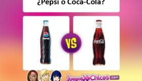 ¿Qué es mejor? ¿Pepsi o Coca-Cola?