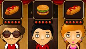 El bar de comida rápida