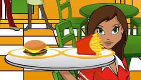 El restaurante de comida rápida de Lea