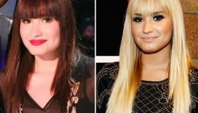 Demi Lovato se tiñe de moreno
