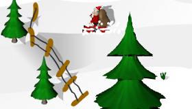 Papá Noel esquí
