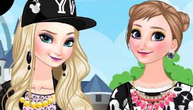 Juego De Frozen Elsa Y Anna En Disneyland Gratis Juegos Xa