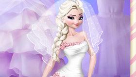 Elsa Frozen prepara su boda