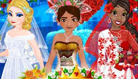 Juego de boda de princesas para chicas