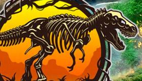 Encuentra los huevos de los dinosaurios de Jurassic World
