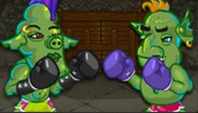 Entrenamiento de boxeo con el Grinch