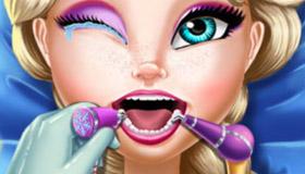 El dentista de la reina Elsa en Frozen 2