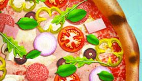 Cocina pizzas realistas