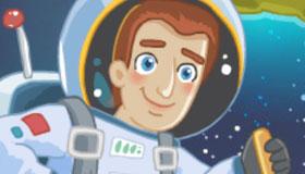Los minions en el espacio