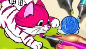 Juego de colorear animales