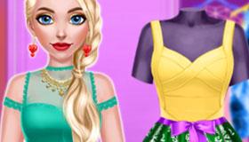 Juego de moda barbie: bailarina