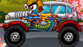 Puzzle Coches Angry Birds