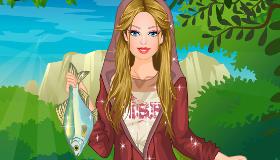 Barbie aventuras de pesca
