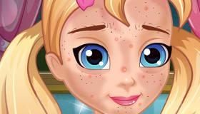 Lisa y su piel adolescente