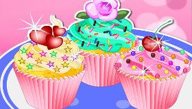 Cupcakes coloridos