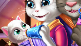 juego de la gatita talking angela gratis juegos xa chicas. Black Bedroom Furniture Sets. Home Design Ideas