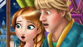 Frozen Anna y Kristoff
