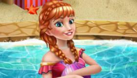 Anna Frozen de vacaciones