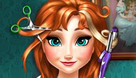 Anna Frozen corte de pelo real