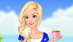 Merienda de chicas con té