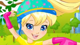 Polly la patinadora