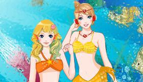 H2O sirenas del mar para vestir