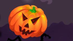 Halloween calabazas