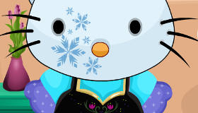 Hello Kitty en Frozen