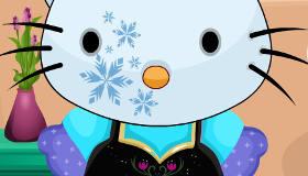 Hello Kitty en Frozen