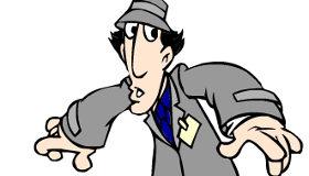 Colorear al Inspector Gadget