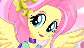 Moda de Equestria Girls con Fluttershy