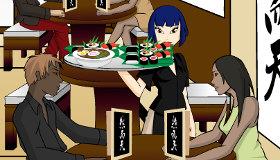 Juego de restaurante japonés de Lee