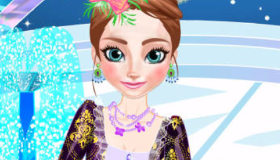 Vistiendo a Anna de Frozen