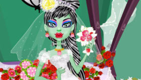 Monster High Frankie de boda