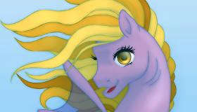 Diseñar un poni sirena